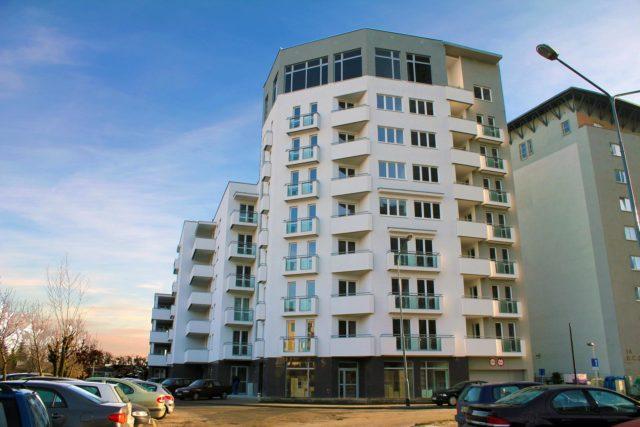 Poznań, ul. Bliźniąt – budynek wielorodzinny